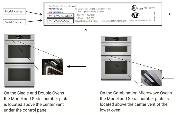 repair-ja-ovens-model-serial